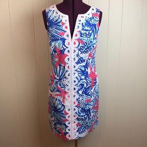 Lilly Pulitzer She Sells Shells Janice Shift Dress